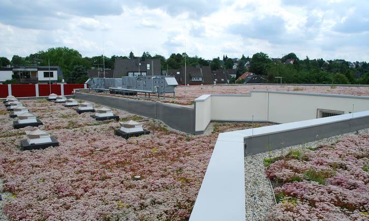 Referenzobjekt Retentionsdach Wasserwerke Bochum