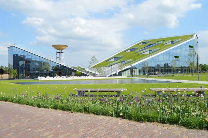 Referenzobjekt Schrägdach Corda Campus Hasselt / Belgien